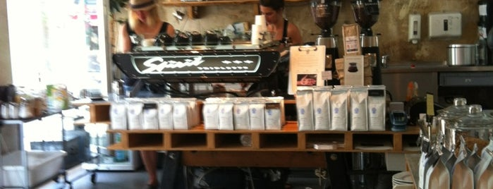 Bonanza Coffee is one of Lugares favoritos de Ekaterina.