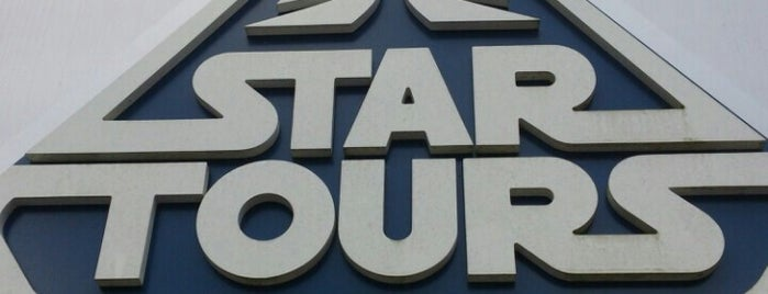 Star Tours is one of Lieux qui ont plu à M..
