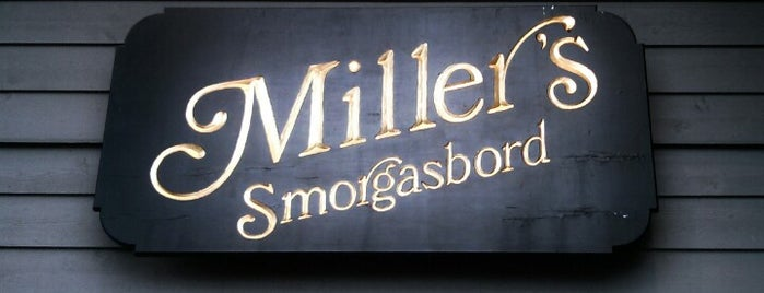 Miller's Smorgasbord is one of Lizzieさんの保存済みスポット.