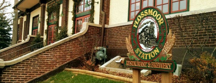 Flossmoor Station Restaurant & Brewery is one of Chicago area breweries.