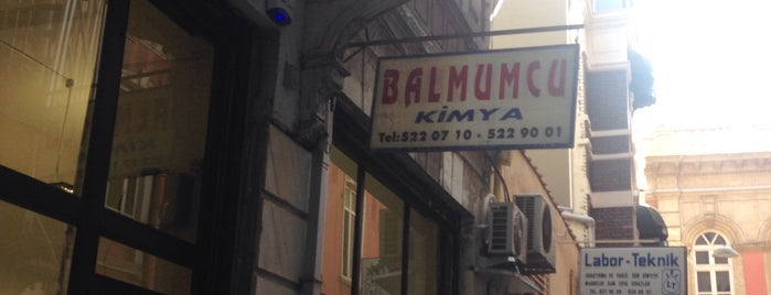 Balmumcu Kimya is one of Locais salvos de Serdar.