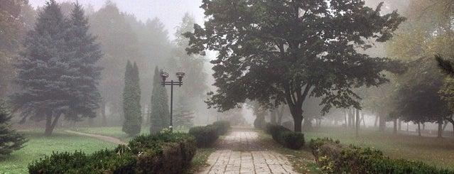 Комсомольский парк is one of KMV.