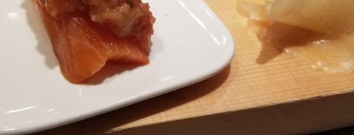 Sushi of Gari 46 is one of Lugares favoritos de Brad.