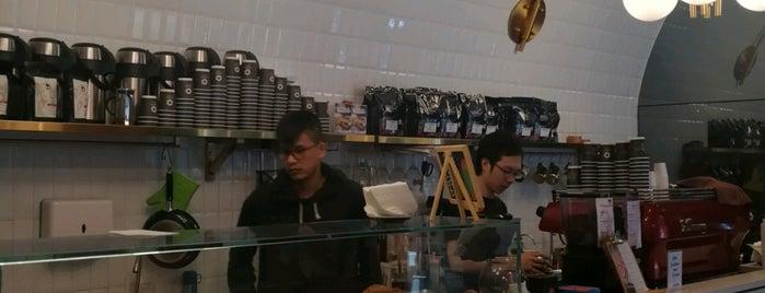 LA STATION is one of HK Coffee shops.