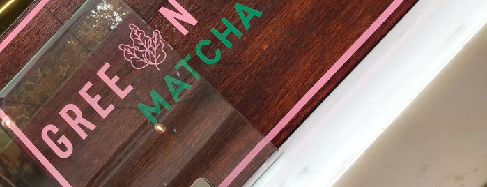 Green Republic - Matcha Bar is one of Lieux qui ont plu à Pablo.
