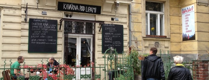 Kavárna Pod Lipami is one of Prague.