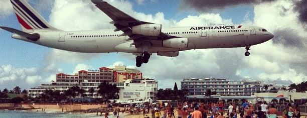 Princess Juliana International Airport (SXM) is one of Before the Earth swallows me....