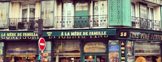 À la Mère de Famille is one of パリのパン屋.