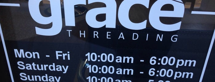 Grace Threading is one of Wherever i go, there o am.