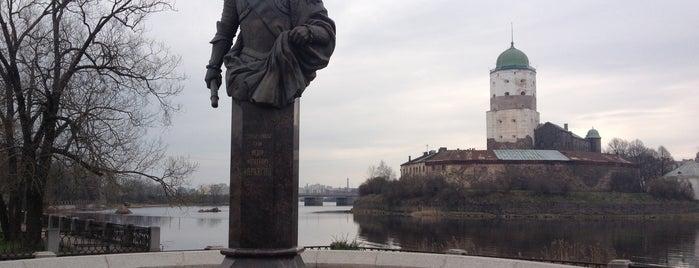 Петровская площадь is one of Выборг (Vyborg).