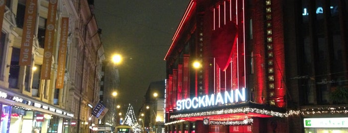 Stockmann is one of Helsinki.