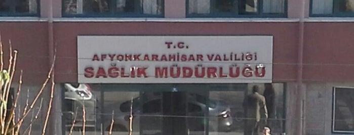 Afyonkarahisar Valiliği Sağlık Müdürlüğü is one of ..