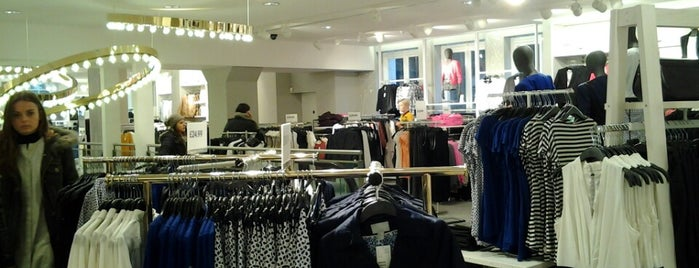 H&M is one of London.