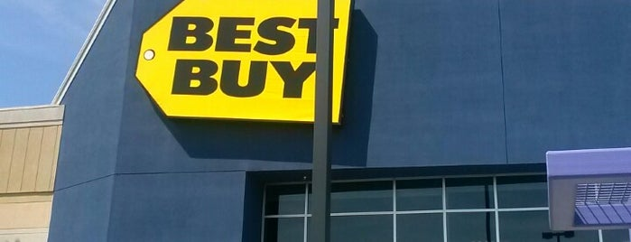 Best Buy is one of The Bay.
