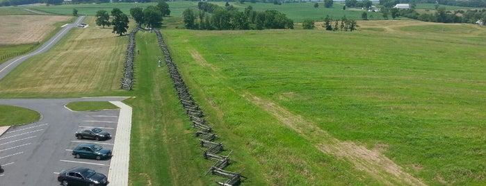 Antietam National Battlefield Park Visitor's Center is one of Joshua Lawrence Chamberlain.