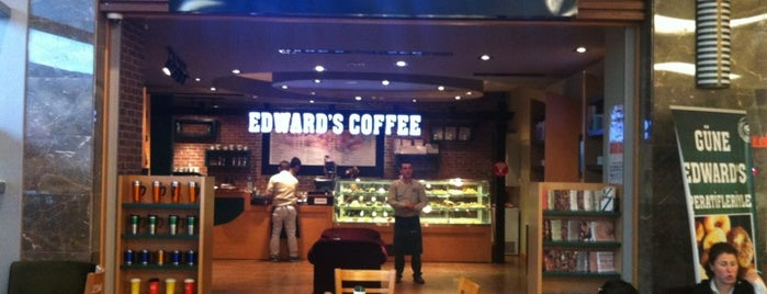 Edward's Coffee is one of HB.