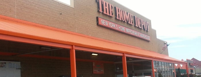 The Home Depot is one of New York 2018.