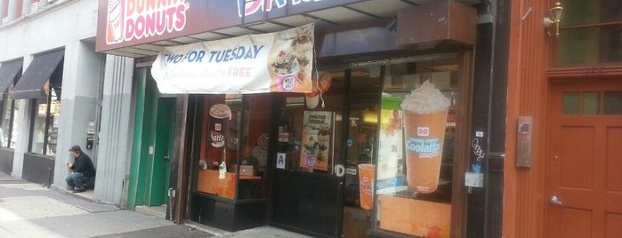Dunkin' is one of Favorite Restaurant In NYC.