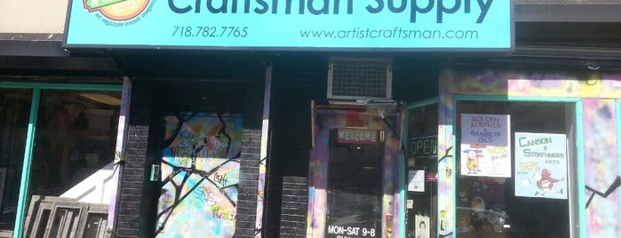 Artist & Craftsman Supply is one of Brooklyn.