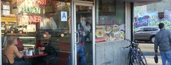 El Palacio De Las Empanadas is one of Stevenson's Favorite NYC Restaurants.