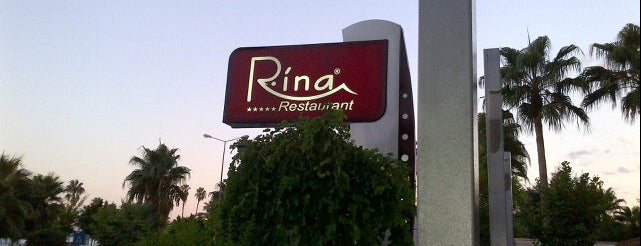 Rina Restaurant is one of Mersin.