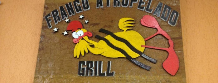 Frango Atropelado Grill is one of Adelinoさんの保存済みスポット.