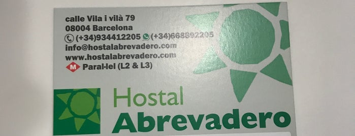 Hostal Abrevadero is one of Barcelona.
