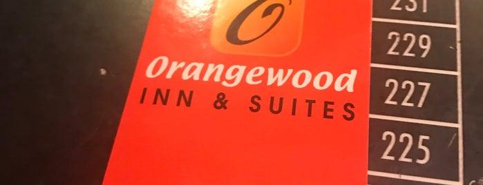 Orangewood Inn And Suites is one of Posti che sono piaciuti a Anne.