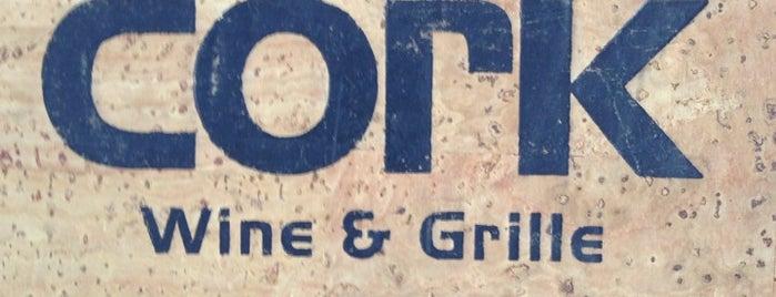 Cork Wine & Grille is one of Lugares guardados de Joey.