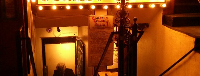 Comedy Cellar is one of New York nightlife.