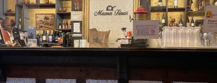 Mama Fina's is one of The New Yorkers: Village Life.