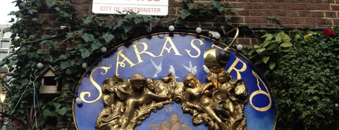Sarastro is one of London Food.