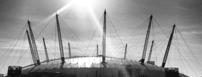 The O2 Arena is one of London Town.