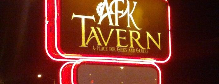 AFK Tavern is one of Locais salvos de caitlin.