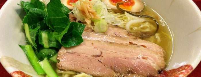 旬麺 しろ八 is one of Locais curtidos por Kazu.