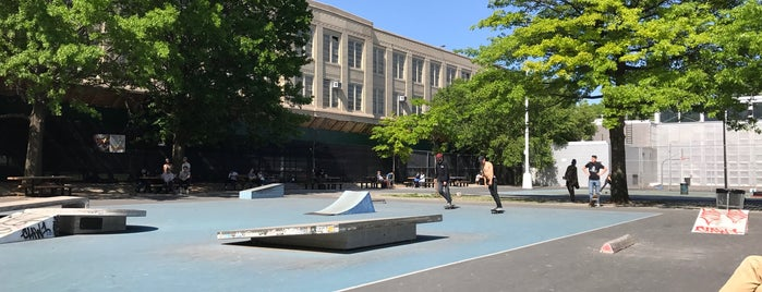 Martinez Playground and Skatepark is one of Where to play ball — Public Courts.