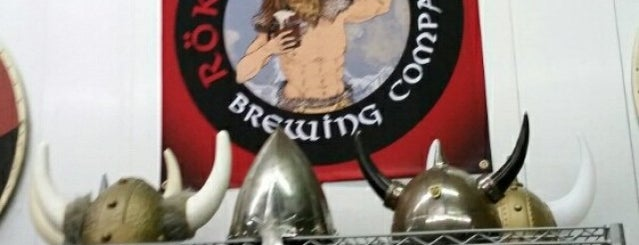 Rök House Brewing Company is one of Near Home.