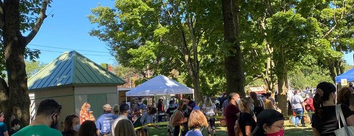Hope St./Lippitt Park Farmers Market is one of RI to-do.
