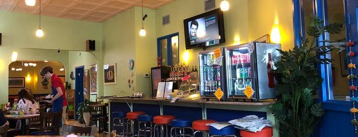 Blue Sea Cafe is one of Delaware spots.