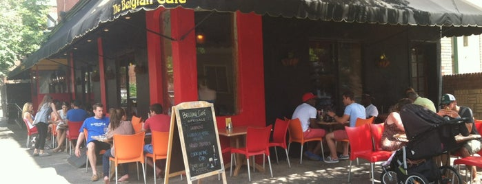 The Belgian Cafe is one of Philly.