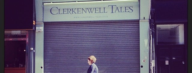Clerkenwell Tales Bookshop is one of London.