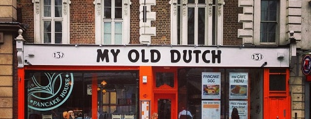 My Old Dutch is one of London alphabet food challenge.