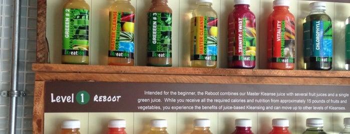Kreation Juicery is one of Organic LA.