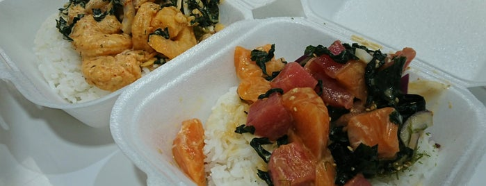 Shaka Poke is one of Good Chow, Sometimes Weird Places.