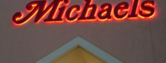 Michaels is one of My kind of shops.