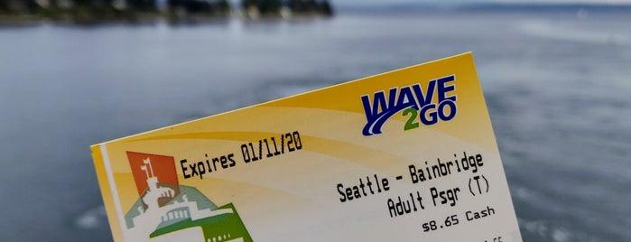 Bainbridge Island/Seattle Ferry is one of Lieux qui ont plu à Barry.