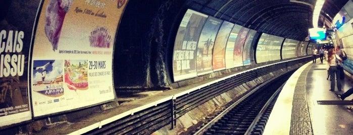 RER Saint-Michel – Notre-Dame [B,C] is one of Paris: husband's hometown ♥.