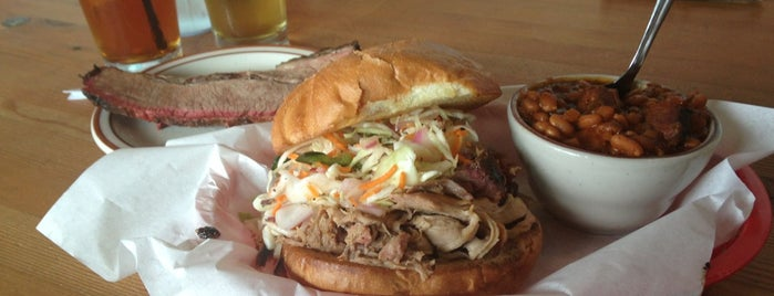 Podnah's Pit BBQ is one of Portland Eats.