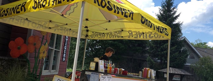 Kosiner Brothers Hot Dog Cart is one of wc/hv to try.