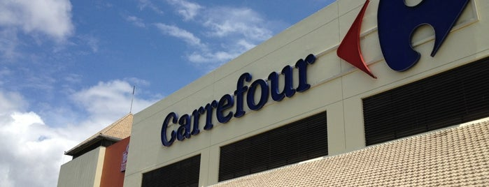 Carrefour is one of pick up.